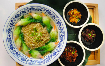 The competition of Huai'an Ten Bowls of Delicious Noodles was Held